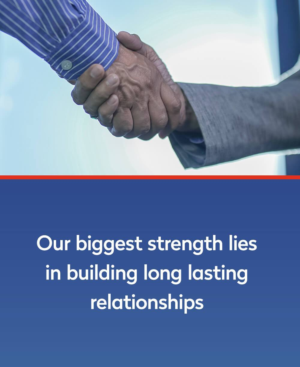 Long lasting relationships