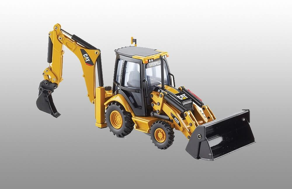Caterpillar Backhoe Cabin